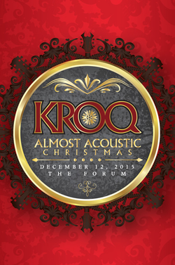 kroq almost acoustic christmas live webcast tonight awolnation builders - Kroq Christmas